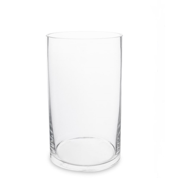 Ваза-цилиндр стеклянная vz 549 ваза стеклянная жостово h 600 кувшин