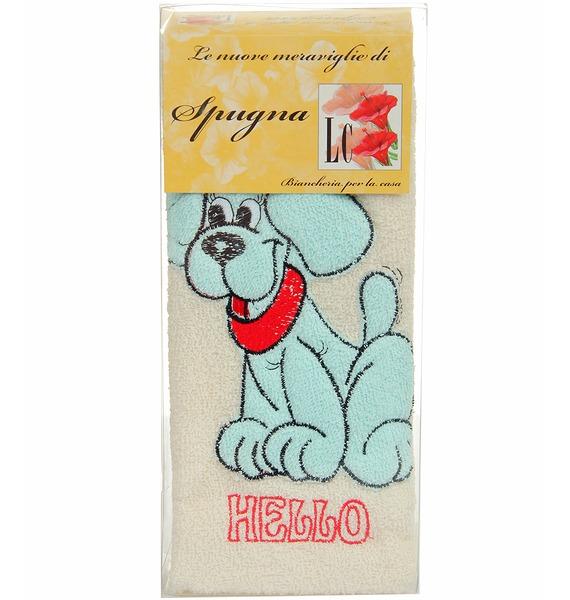 Комплект детских полотенец Голубой щенок – фото № 1