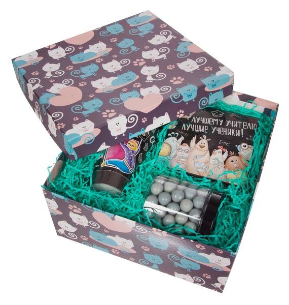 Подарочная коробка Креативному учителю! – фото № 3
