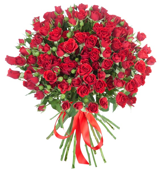 Букет Желанный подарок (25, 51 или 101) букет из 101 розы царский подарок