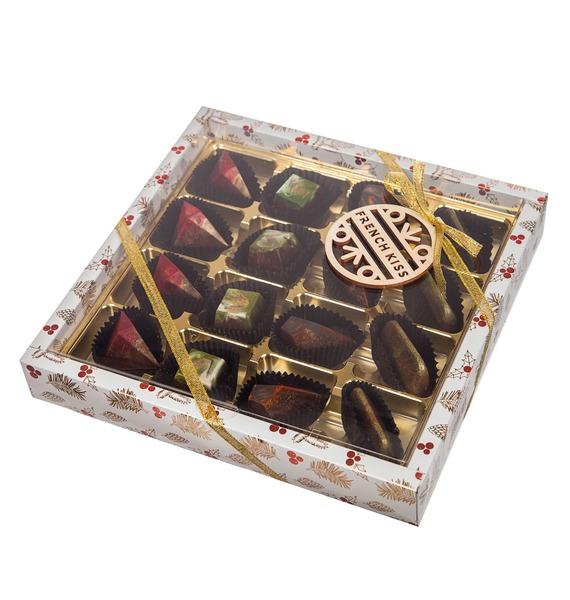 Конфеты ручной работы из бельгийского шоколада Очарование зимы – фото № 5