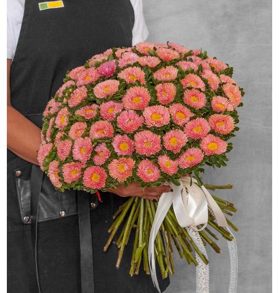 Букеты из кустовой астры фото, уфе купить цветы
