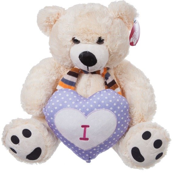 Мягкая игрушка Медведь Артур (80 см) мягкая игрушка нижегородская игрушка зоопарк с бантиком медведь 40 см