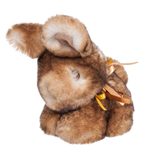 Игрушка из натурального меха Кролик