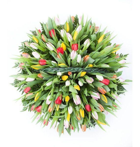 Композиция из тюльпанов Драгоценная моя... (51, 101 или 201) – фото № 3