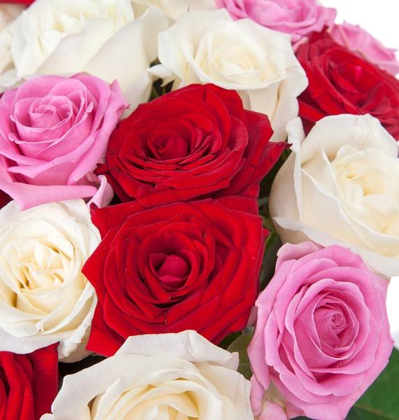 Букет роз Ягодное лето (35, 51 или 101) – фото № 4