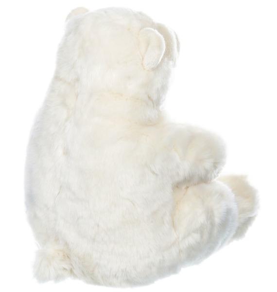 Мягкая игрушка Полярный мишка – фото № 3