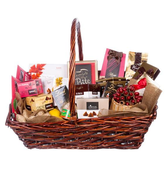 Подарочная корзина Важной персоне (Коньяк в подарок) – фото № 1