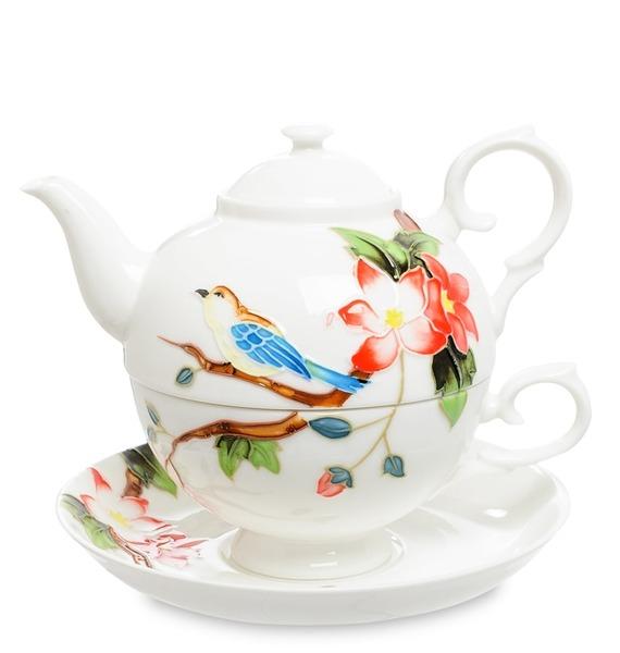 """Чайный набор """"Райская птица"""" (Pavone)"""
