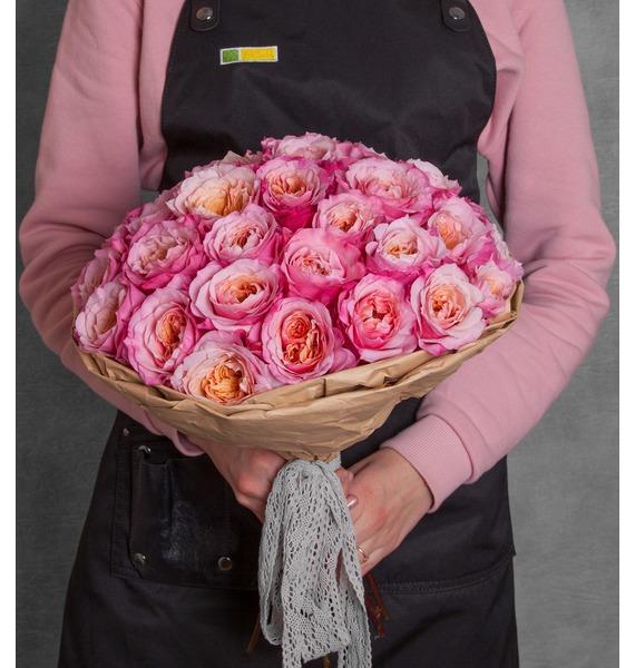 Букет пионовидных роз Miyabi (15, 25 или 51) цена