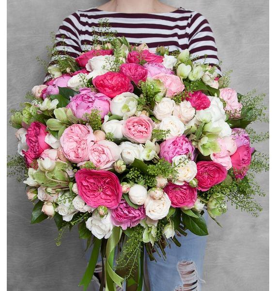 Букет Пионовидные розы настенный светильник citilux дина cl922021