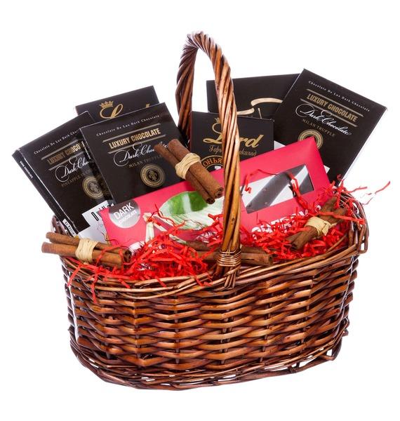 Подарочная корзина Шоколад mugler amen дезодорант стик amen дезодорант стик