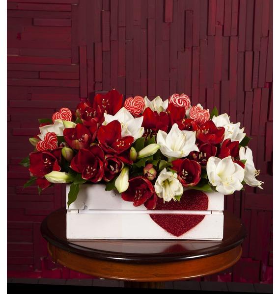 Композиция Скрипичный ключик конфеты вкусная помощь для женского счастья 125 г