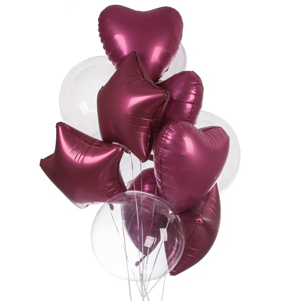 Букет шаров Истинная любовь (11 или 21 шар) букет любовь моя