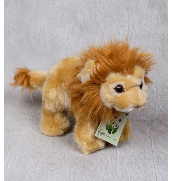 Мягкая игрушка Лев WWF (20 см)
