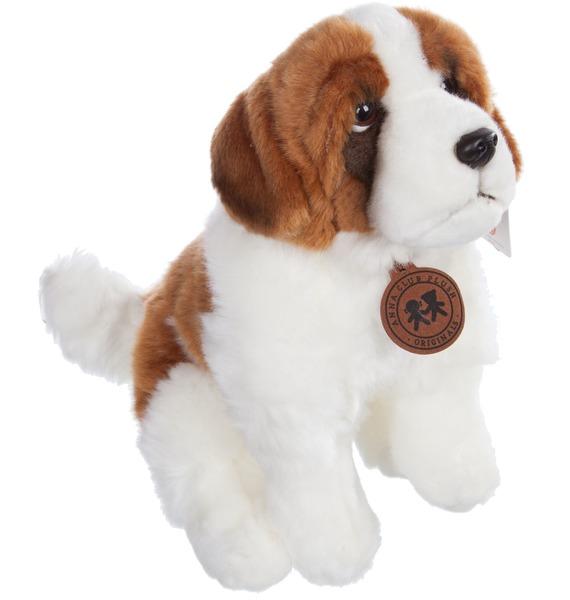 Мягкая игрушка Собака Сенбернар (28 см) мягкая игрушка собака лабрадор