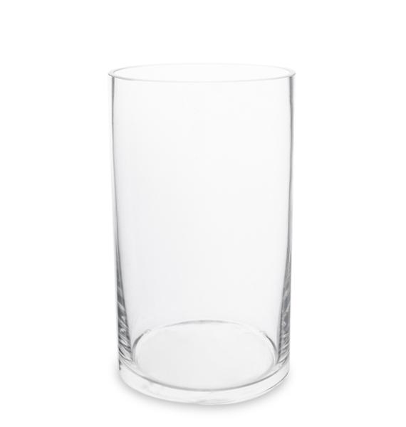 Ваза-цилиндр стеклянная 20 см