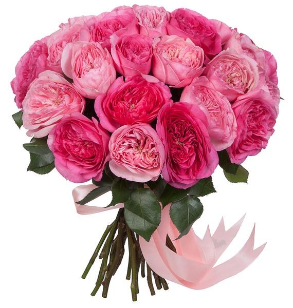 Букет из пионовидных роз Для самой красивой! букет из кустовых роз иллюзия