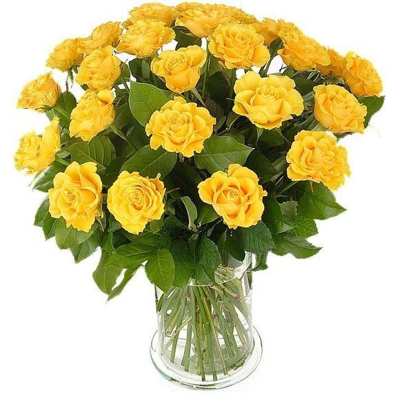 Букет из 25 желтых роз Неотразимой