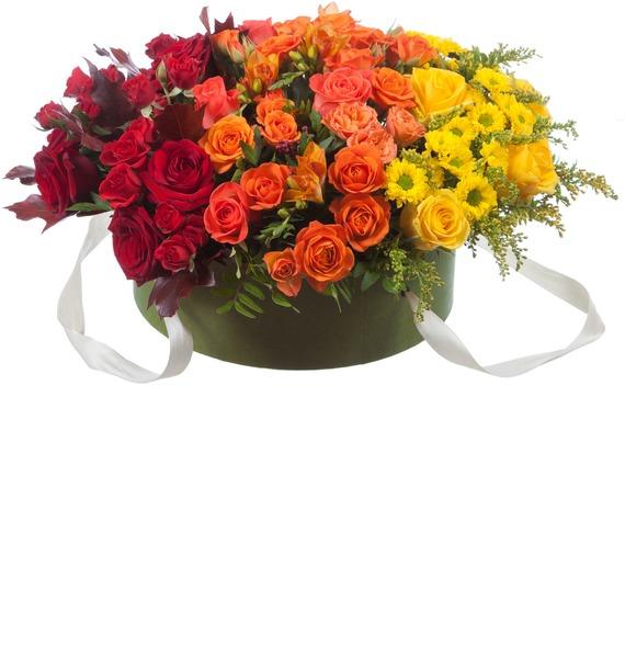 Подарочная коробка «Оранжевый градиент» ck storm подарочная коробка цветная полоса коробка xxl no