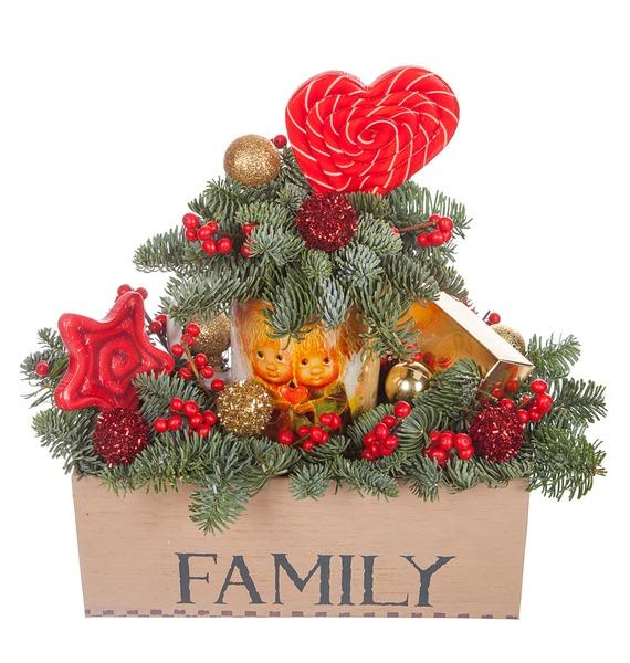 Подарочная коробка Любовь в доме – фото № 5