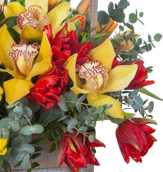 Композиция Бал орхидей – фото № 4