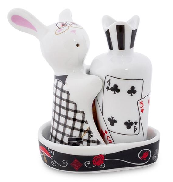 Набор соль-перец Кролик в Стране чудес (TOPCHOICE) cms 26 4 набор соль перец гибискус pavone
