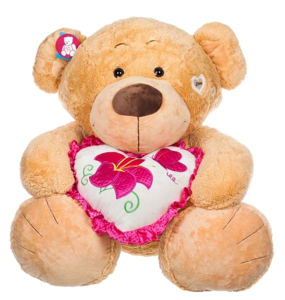 Мягкая игрушка Медведь Томас (80 см) мягкая игрушка медведь пузатый большой нижегородская игрушка см 377 5