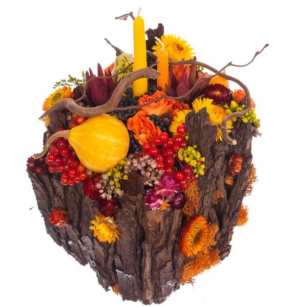 Подарочное кашпо Теплая осень – фото № 5