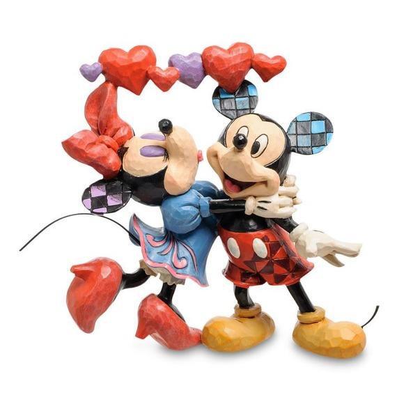 Фигурка Микки и Минни Маус Аромат любви (Disney) зонты disney зонтик disney стильная штучка минни маус