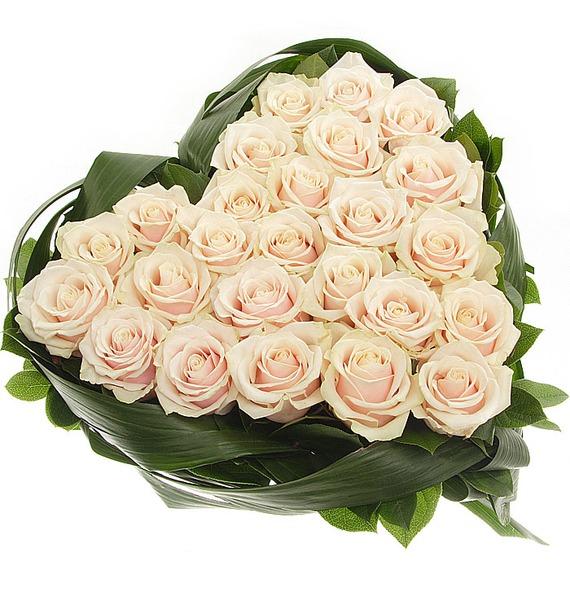 Композиция Нежно любимой (25 или 51 роза) – фото № 4