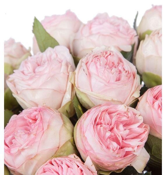Букет из пионовидныз роз Bridal Piano (15, 25 или 51) – фото № 3