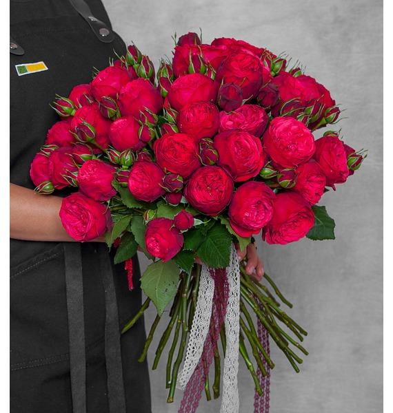 Букет из пионовидных роз Piano ювелирные шармы bunny шарм подвеска букет золотых роз