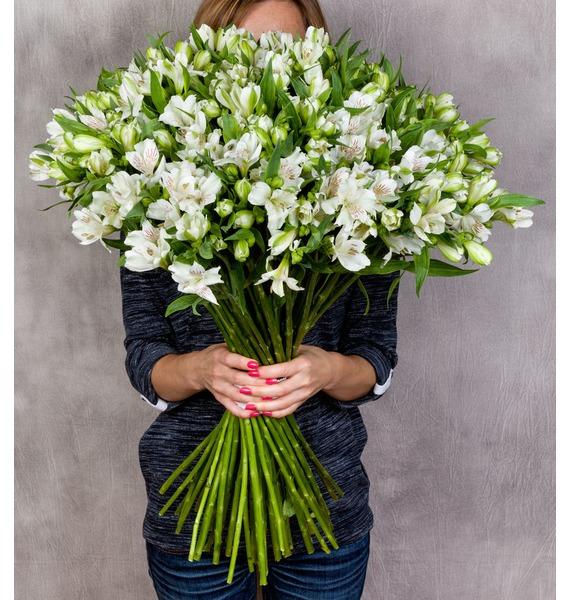 Bouquet Brilliant (25, 51 or 101 alstroemeria) – photo #2