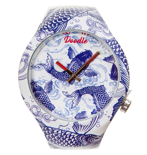 Часы Doodle Карпы