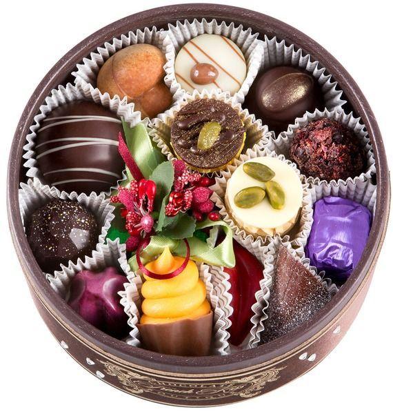 """Конфеты ручной работы из бельгийского шоколада """"Лозанна"""""""