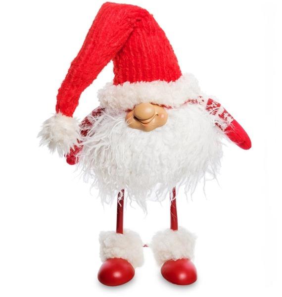 Фигура Гном в красном колпачке фигурка гном в вязанном колпачке