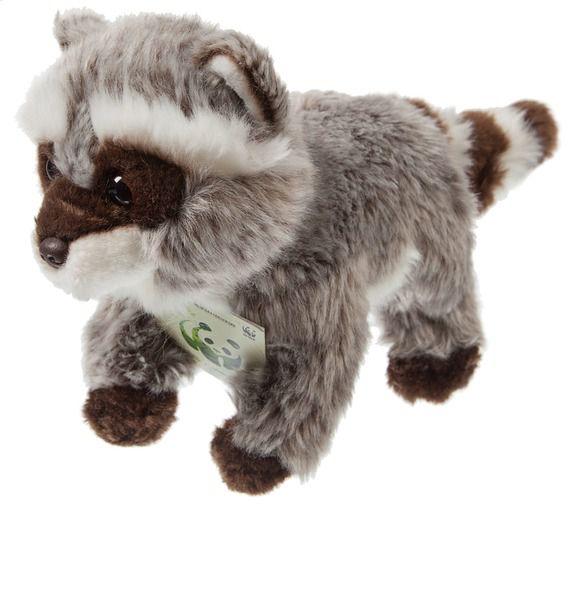 Мягкая игрушка Енот WWF (20см) игрушка енот