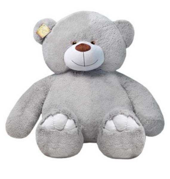 Мягкая игрушка Медведь Юлиан (150 см) мягкая игрушка нижегородская игрушка зоопарк с бантиком медведь 40 см