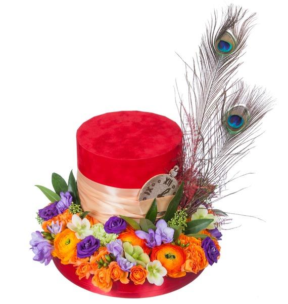 Композиция Сказочная шляпа – фото № 5