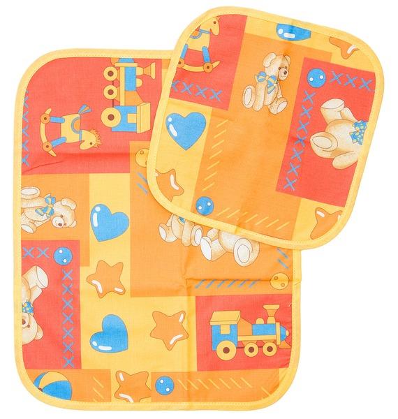 Комплект из 2-х полотенец с мишками комплект из 2 х полотенец и салфеток подарочный bonita нежность