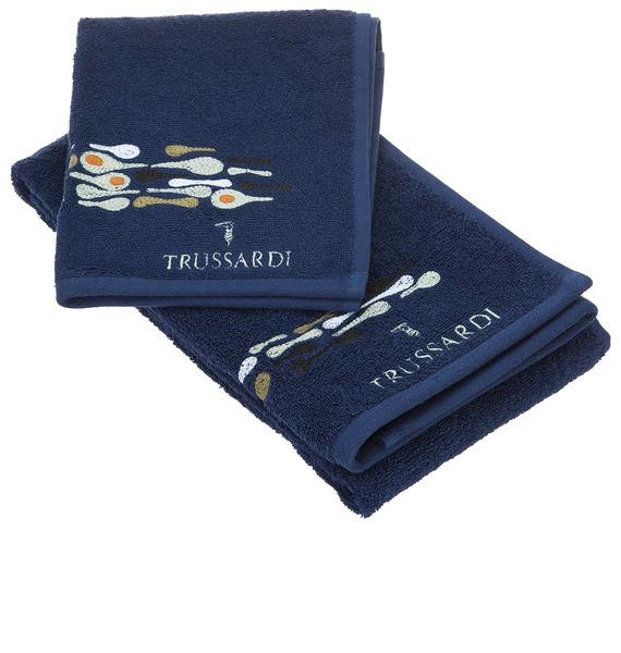 Комплект из 2-х полотенец TRUSSARDI – фото № 2