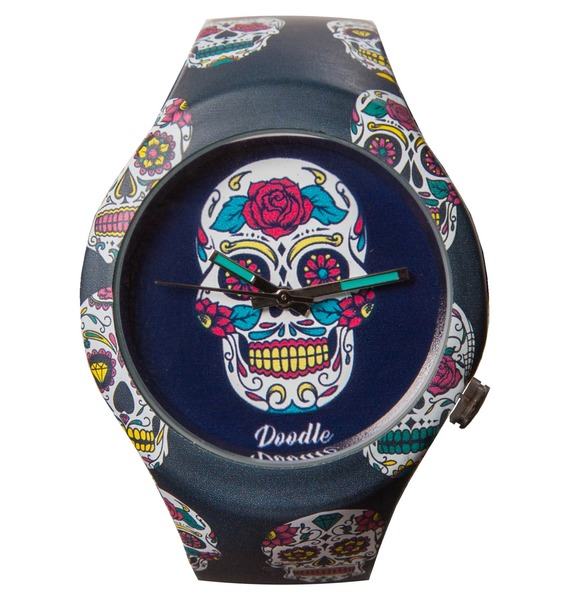 Часы Doodle «Калавера»