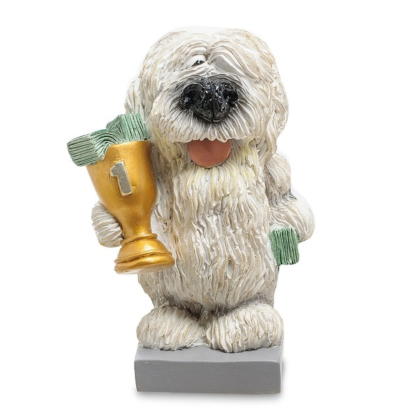 Статуэтка Собака Комондор Желаю блестящих побед (W.Stratford) статуэтка успехов и побед в 2019 году