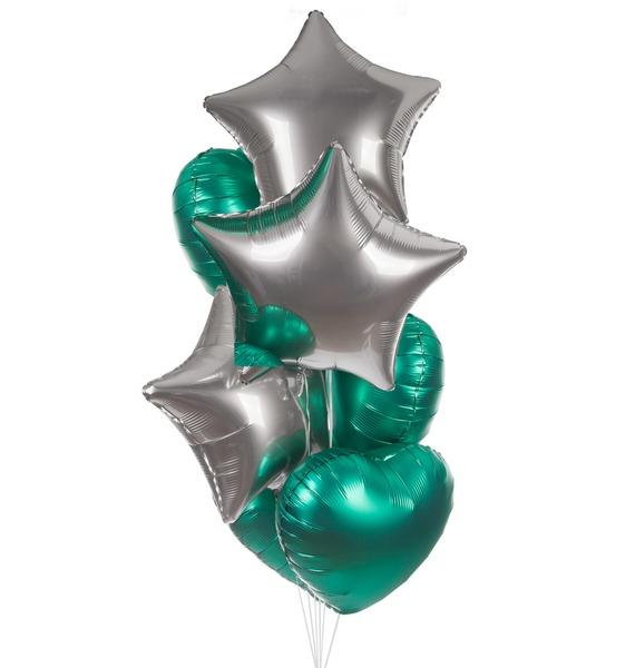 Букет шаров Успех (7 или 15 шаров)
