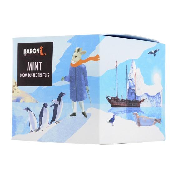 ремень baron baron mp002xm23u6n Французские трюфели BARON с кристаллами мяты