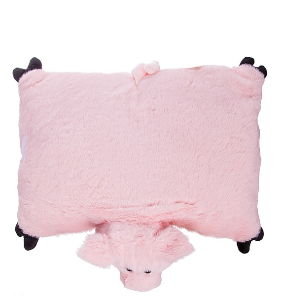 Мягкая игрушка-подушка Розовая Ховронья – фото № 3