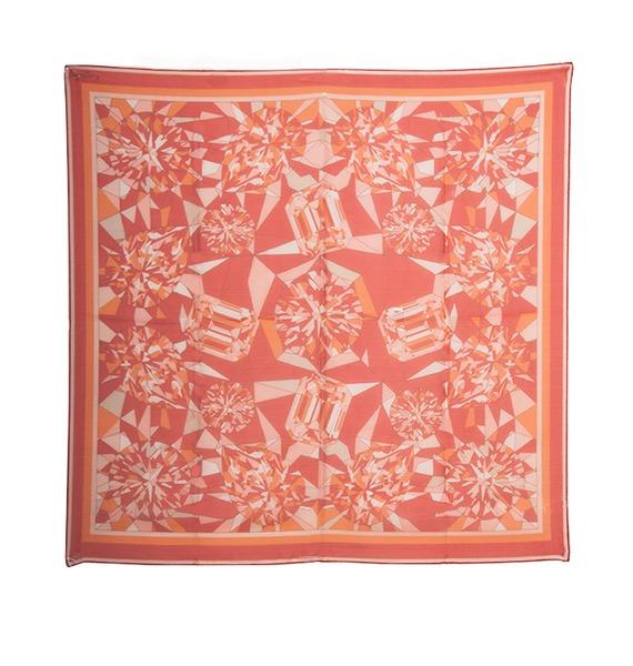 Шелковый платок Cartier – фото № 1