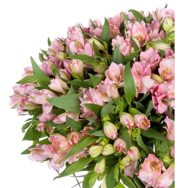 Bouquet Topaz (25, 51 or 101 alstroemeria) – photo #3