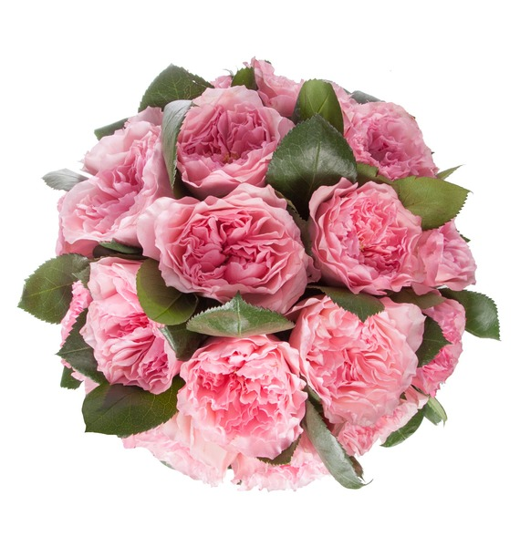 Композиция из пионовидных роз Mayras Rose – фото № 3